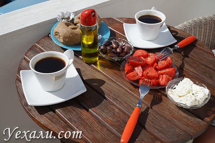 Греческое гостеприимство и угощения
