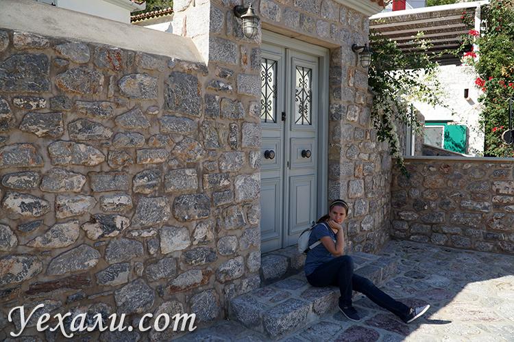 Красота на острове Идра в Греции