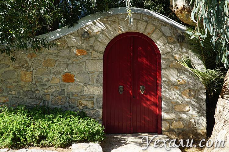 Дома на острове Идра, фото