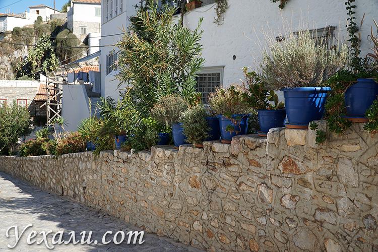 Фото улиц на острове Гидра