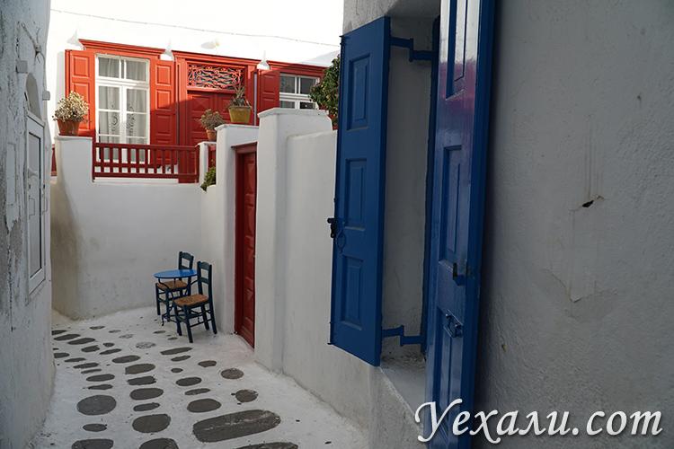 Фото острова Миконос в Греции