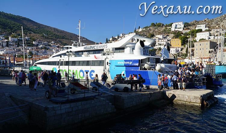 Паромы Греции: остров Гидра (Идра).