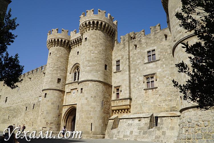 Дворец Мейстеров на Родосе