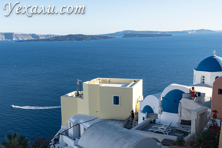 Лучшие фото города Оя на Санторини, Греция.