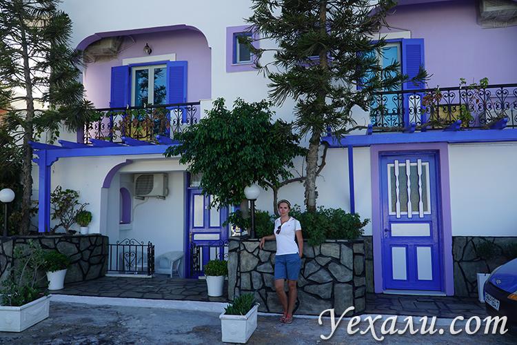 Маршрут по Греции, остров Санторини