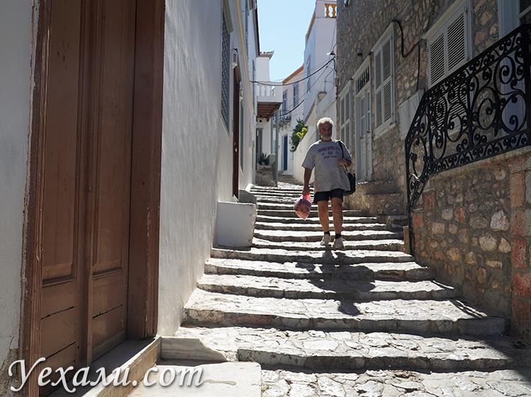 Фото острова Идра в Греции