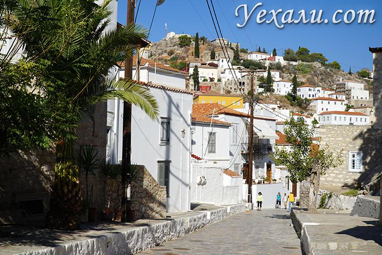 Остров Идра в Греции (он же Гидра) и его минималистичные улицы