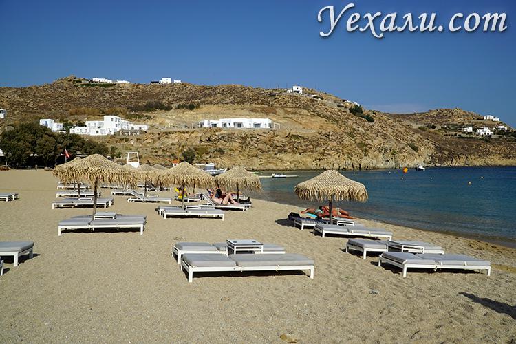 Фото пляжей на острове Миконос