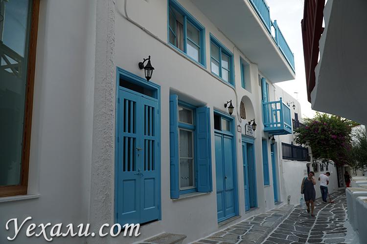 Лучшие фотографии острова Миконос