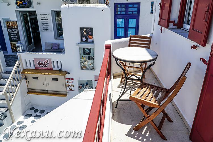 Лучшие отели острова Миконос. Апартаменты Domna Lakka.