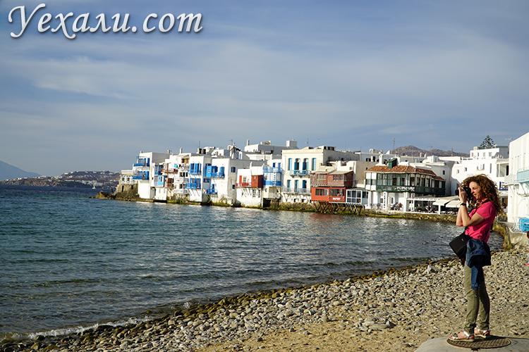 Самые красивые фотографии острова Миконос