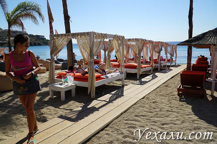 Много фотографий с острова Миконос