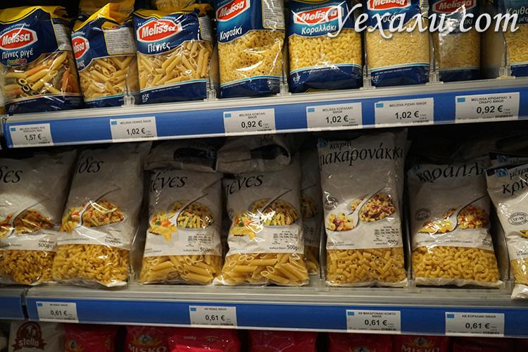 Стоимость еды на Миконосе