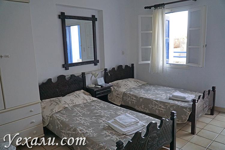 Отель на Миконосе Каса Анна с кухней