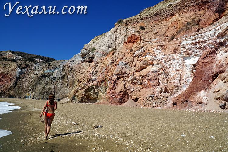 Фото Палиохори - самого красивого пляжа Милоса