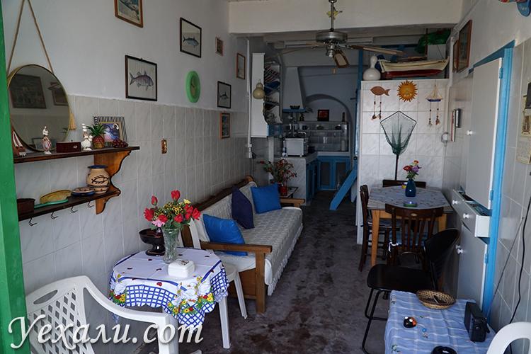 Фото деревни Клима на Милосе