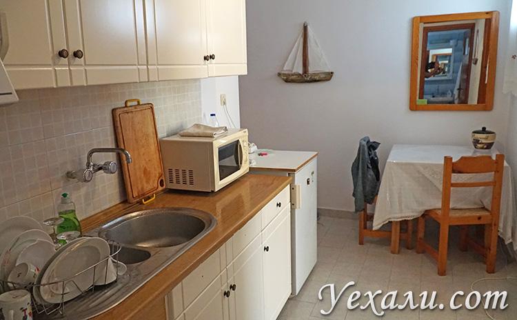 Путеводитель по острову Милос (Греция): наш апарт-отель Katerina Apartments.