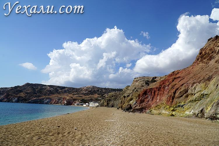 Пляж Палиохори на Милосе, фото и отзывы туристов