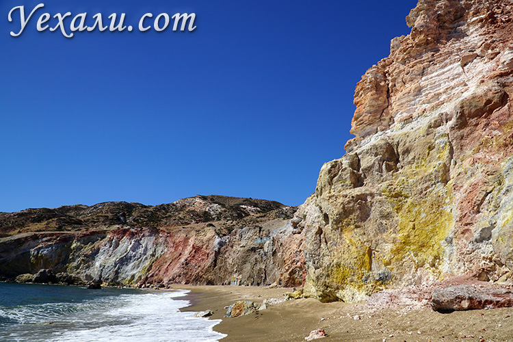 Достопримечательности острова Милос: отзывы, фото, карта