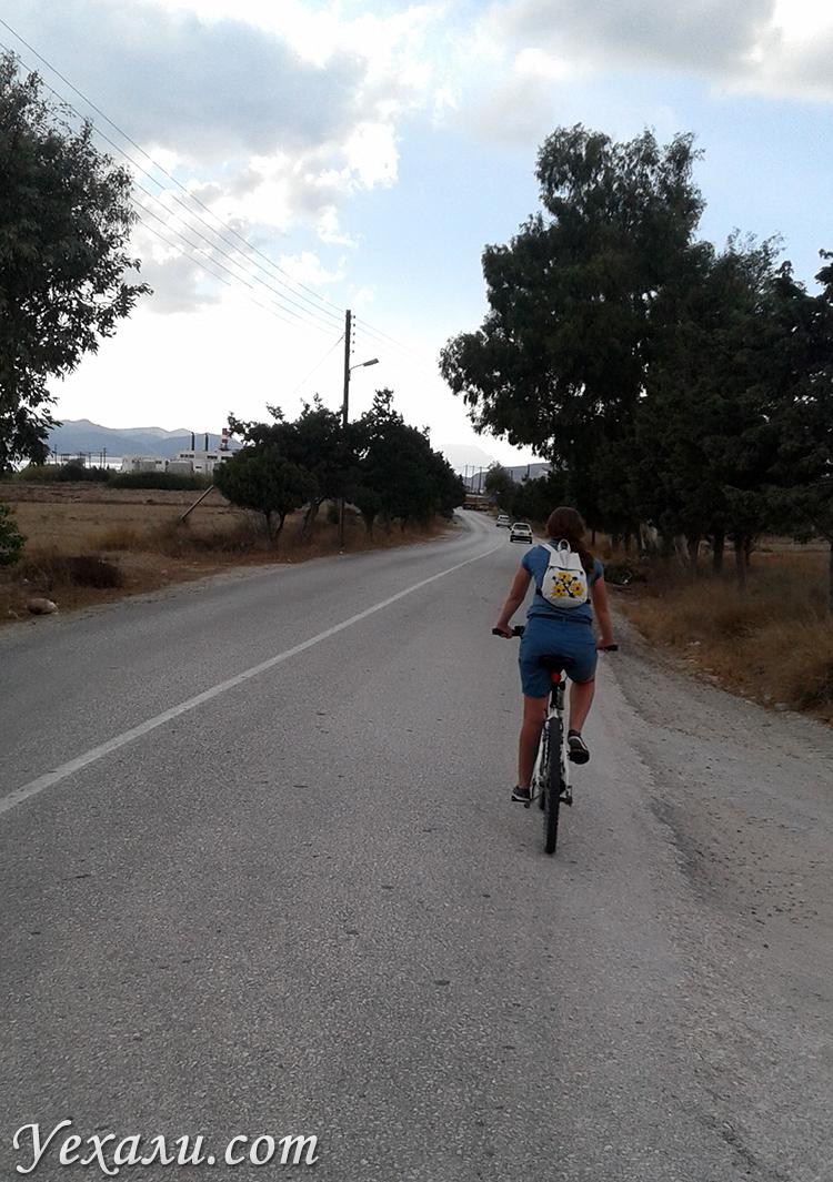 Аренда велосипедов на Милосе в Греции