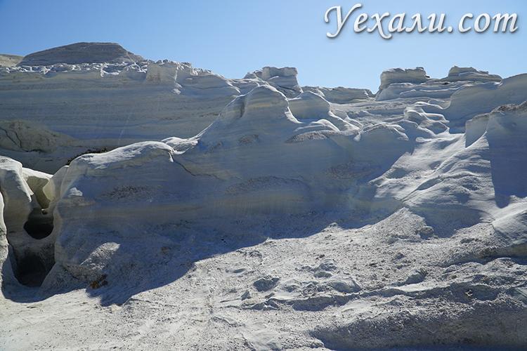 Фото пляжа Саракинико в Греции