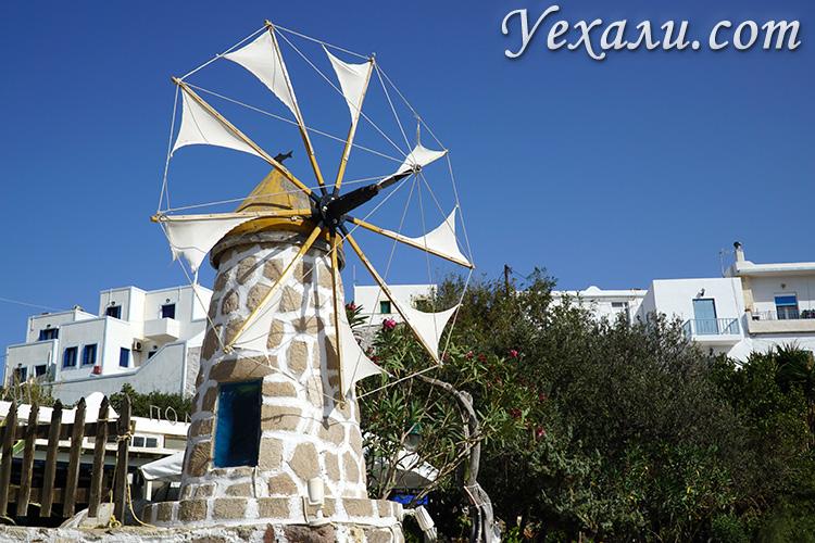 Достопримечательности, что посмотреть на Милосе, Греция