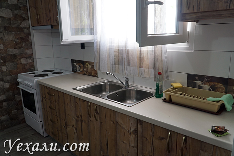 Недорогой апарт-отель на Санторини