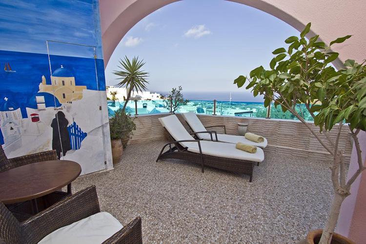 Лучшие отели Санторини, Греция: Nectarios Villa.