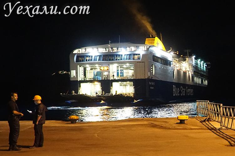 Как добраться до Санторини (Греция) с других островов