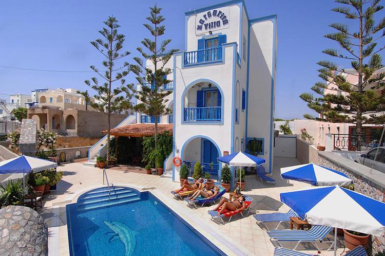 Лучшие отели Санторини, Греция: Villa Margarita.