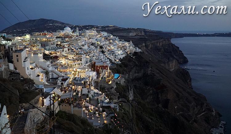 Лучшие фото города Фира на Санторини, Греция.