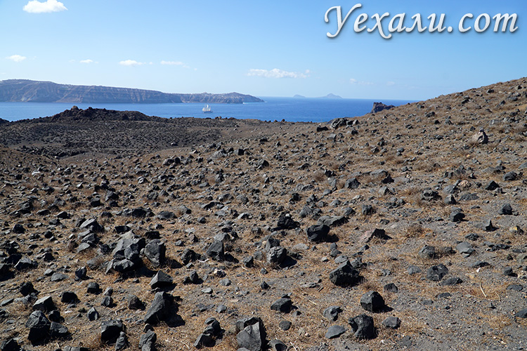 Поверхность вулкана Неа-Камени