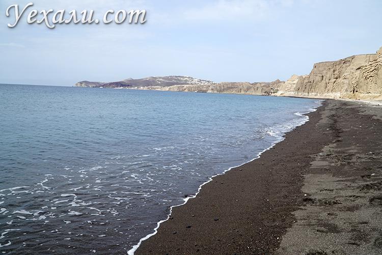 Вход в воду на пляже Влихада