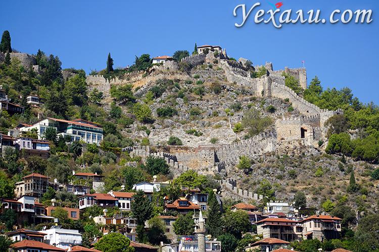 Крепость Алании фото