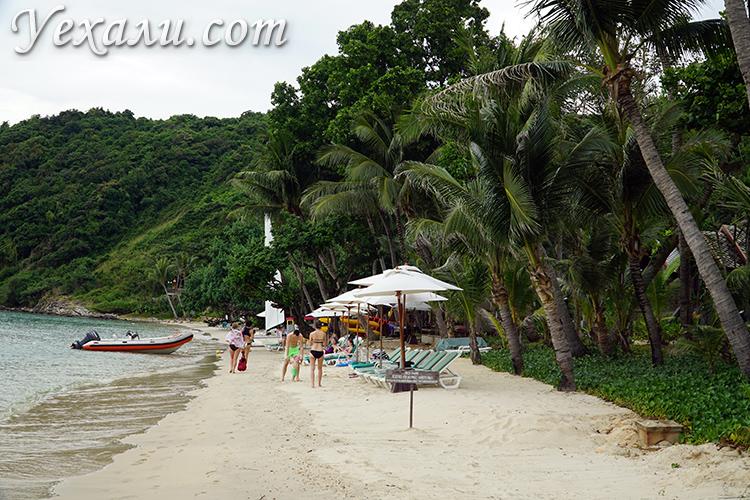 Остров Ко Самет пляж Ао Прао