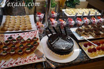 Еда в отеле Иксперия Сарай в Аланьи Турция