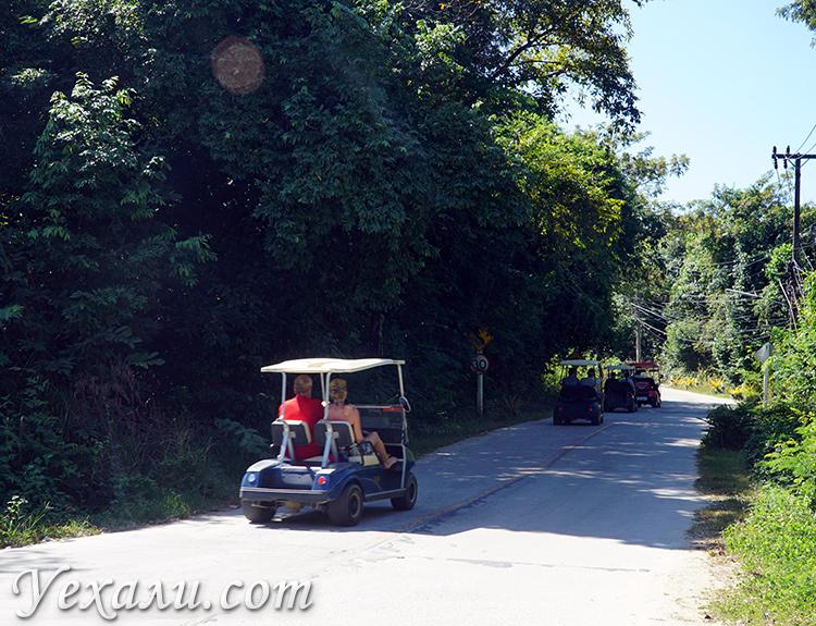 Гольф-машины на острове Ко Самет