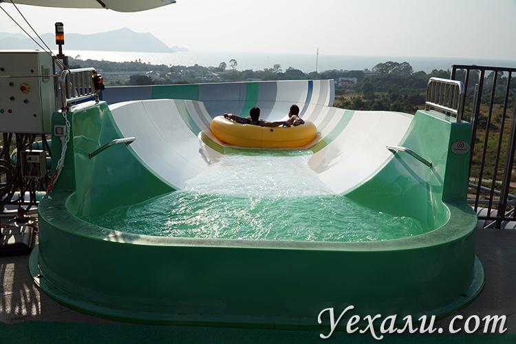 Лучший аквапарк в Паттайе
