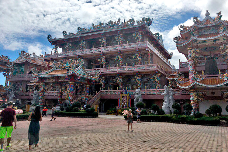 Экскурсия Дискавери 7 в 1 в Паттайе: Китайский храм
