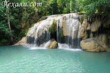 Самые красивые фото водопада Эраван в Тайланде: уровень 2.