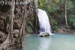 Вся информация для туристов про водопад Эраван в Таиланде. Как добраться, фото, цены и т. д.
