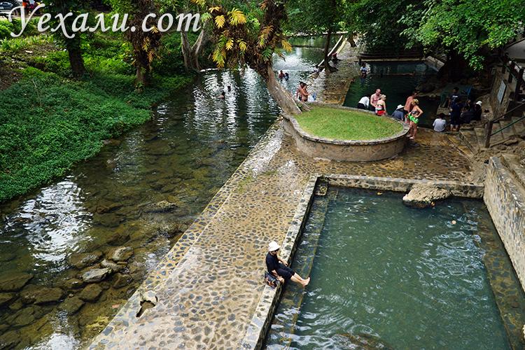 Экскурсия на Квай из Паттайи и посещение горячих источников