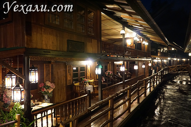 Отель на экскурсии на реку Квай