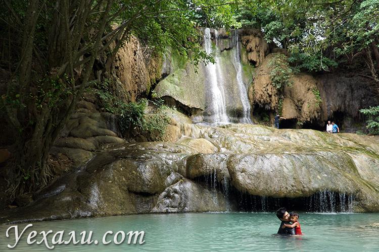 Водопад Сайок Ной на экскурсии на Квай