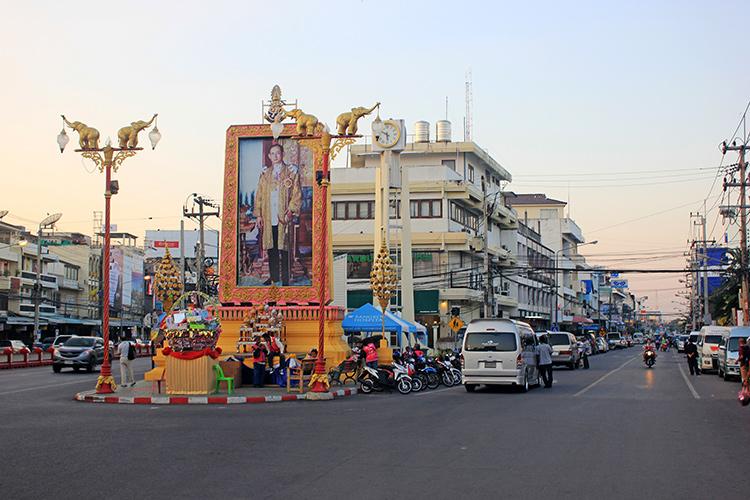 Фото и отзывы про Хуа Хин (Тайланд): порядок на дорогах.
