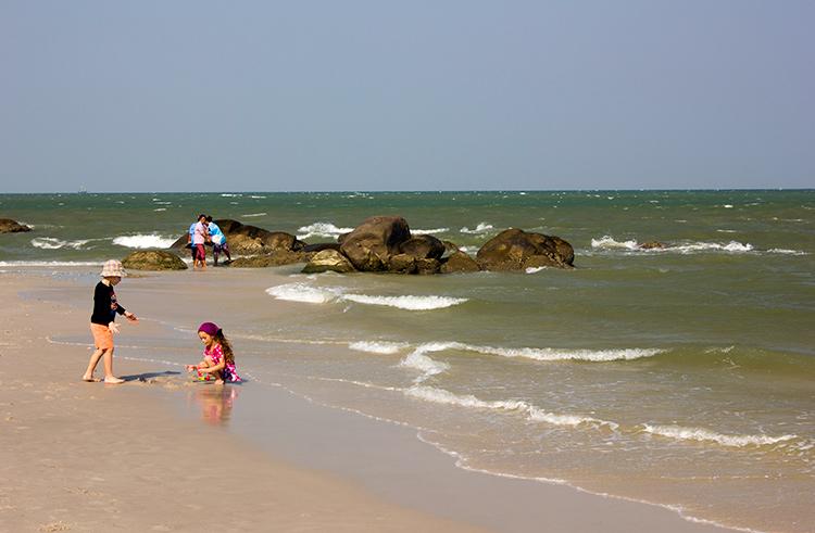 Достопримечательности и пляжи Хуахина, Таиланд.