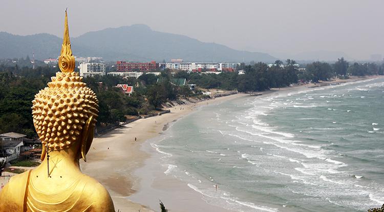 Пляжи Хуа Хина, Таиланд. На фото: пляж Као Тао.