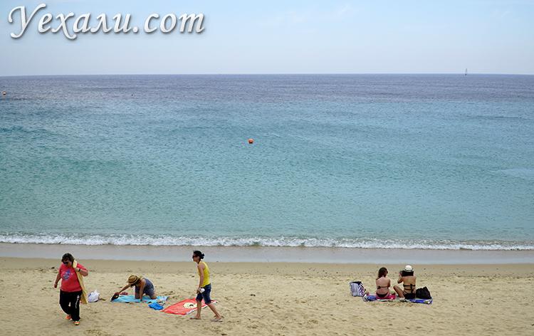Пляж Элия на Миконосе