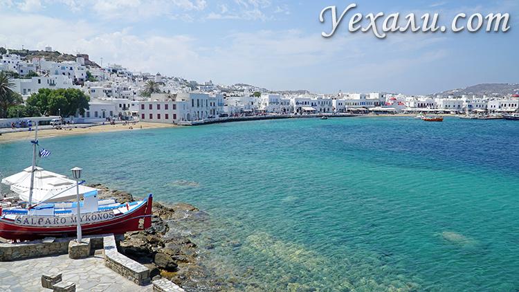 Фото острова Миконос, Греция