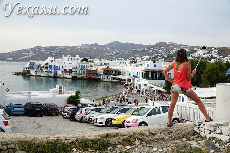 Остров Миконос, Греция.